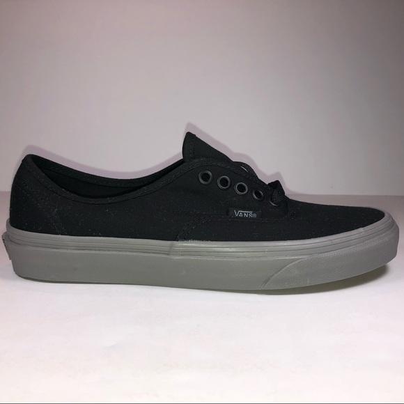a0df4289e114 Vans Shoes | Authentic Pop Black Frost Gray Sneakers | Poshmark